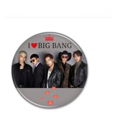 BigBang - hűtőmágnes, vagy kitűző