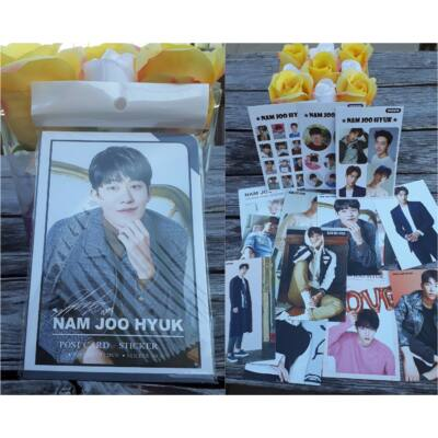 Nam Joo Hyuk - képeslap és matrica csomag
