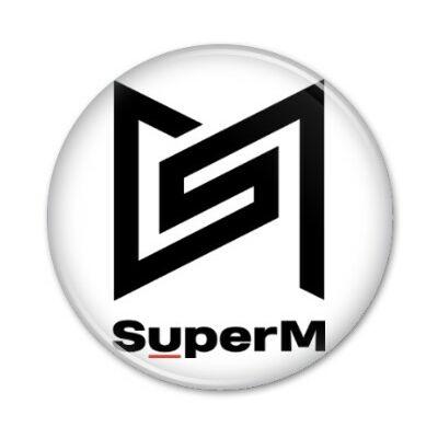 SuperM - kitűző
